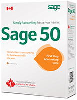 Sage 50 First Step Accounting - Canadian Edition