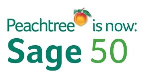 Peachtree is now Sage 50