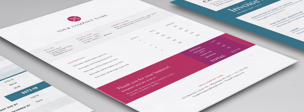 design graphic design invoice templates for word excel sage canada