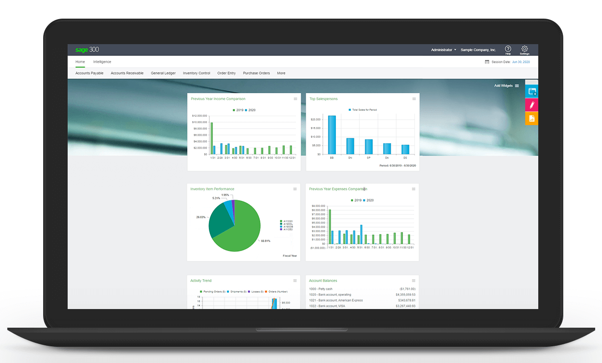 Simplify your financials with Sage 300cloud