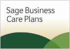 Learn about Sage Business Care Service Plans