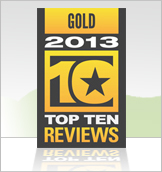 Gold in 2013 Top Ten Reviews