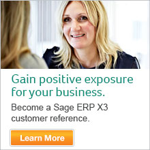 Sage ERP X3 Customer Reference