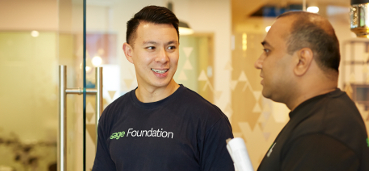 Sage Foundation volunteers in Singapore