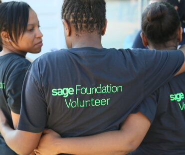 Sage Foundation volunteers in South Africa