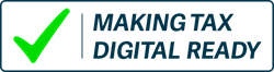 Msking Tax Digital Ready logo with checkmark