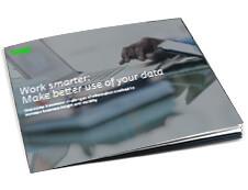 Front cover of Sage guide, Work Smarter: Make Better Use of Your Data