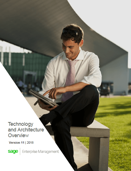 Front cover of Sage Enterprise Management Technology and Architecture Overview