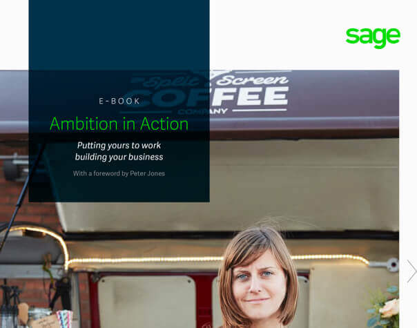 Front cover of Sage eBook, Ambition in A ction
