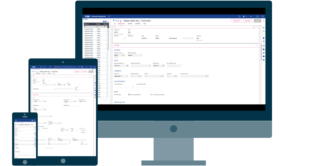 Accelerate your supply chain screenshot