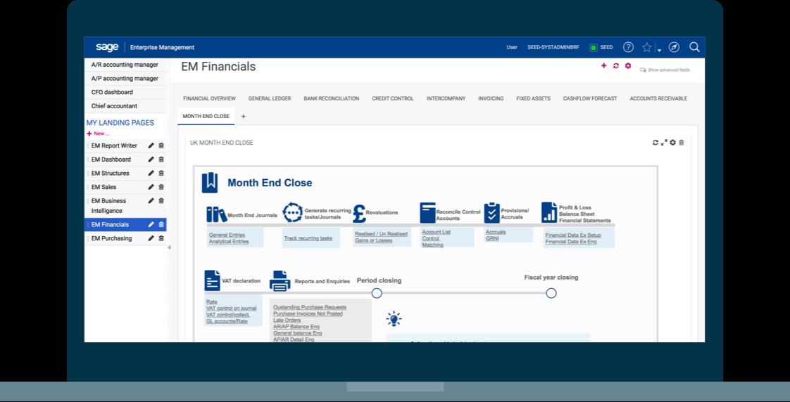 Ensure compliance screenshot